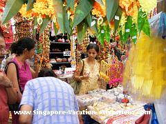A makeshift market known as Deepavali Festival Village will be setup along Campbell Lane in Little India during Deepaval, a popular indian festival celebrated in Singapore