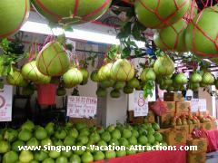 pomelo stall chinatown