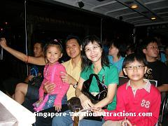 Singapore Night Safari tram picture