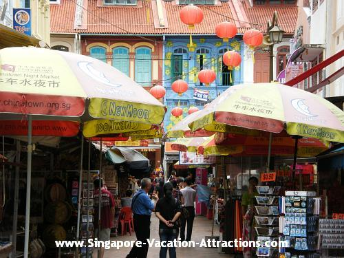 Where to shop at Singapore Chinatown: Chinatown Market Street at Trengganu Street
