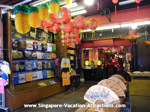 Singapore Chinatown Market Streets where you can hunt for cheap and bargain trinkets