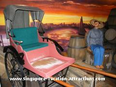 Rickshaw, Images of Singapore