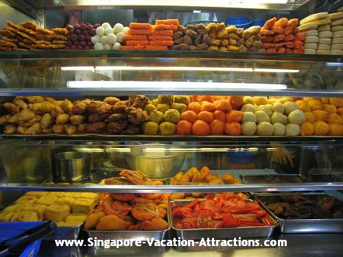 Indian Rojak is one of the popular hawker food in Singapore