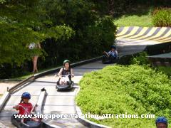 Sentosa Island Luge, ideal for people on family vacation